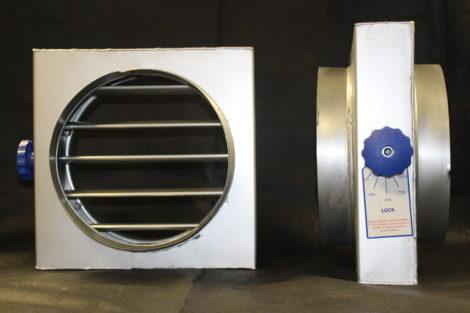 Circular Multi Blade Vcd Damper Vent Direct